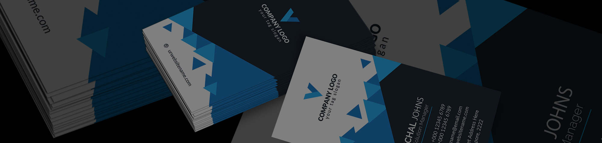 Business Card Design in Photoshop & Illustrator w/ Smart Objects