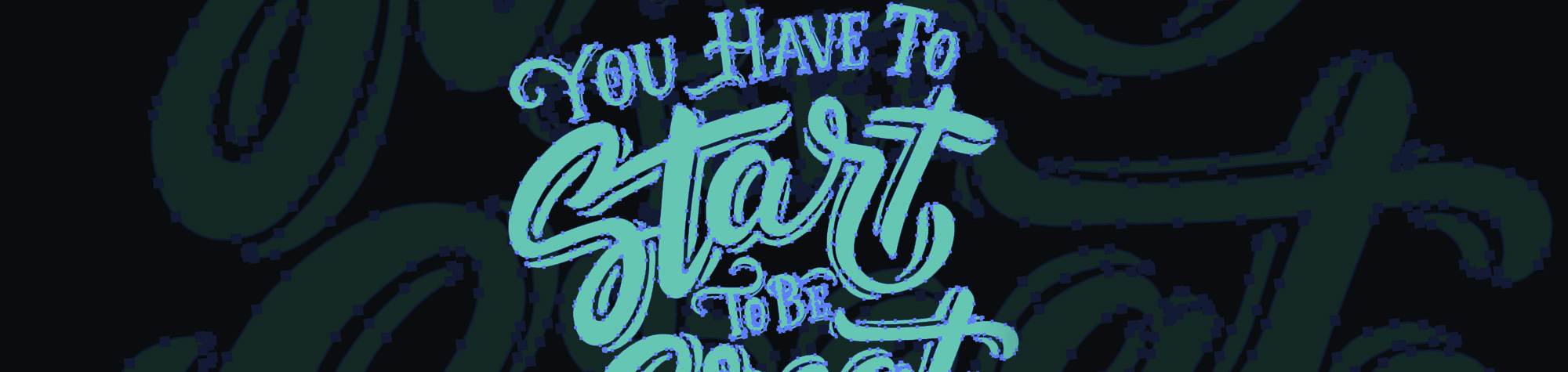 Live Trace Hand Lettering & Fonts for Logos in Adobe Illustrator & Photoshop